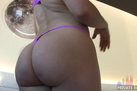 Hot Venezuelan Babe With Perfect Ass On Her First Anal Experience