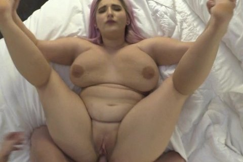 Tricking BBW Big Tit 18 Year Old Out Of Friendzone